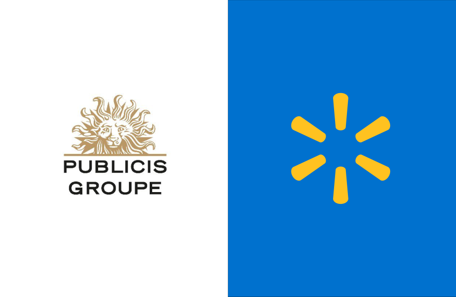 Publicis Groupe and Walmart Logos