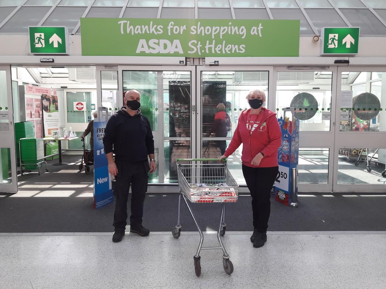 Asda St Helen's donates..... | Asda St Helens