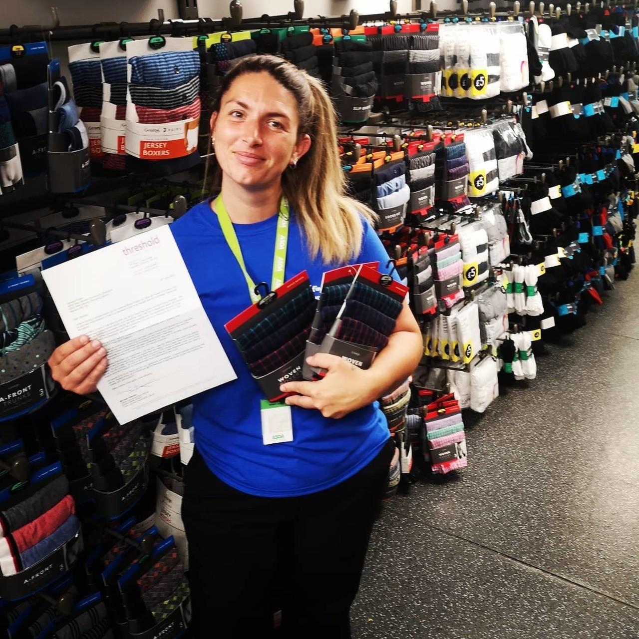 Helping homeless charity | Asda West Swindon
