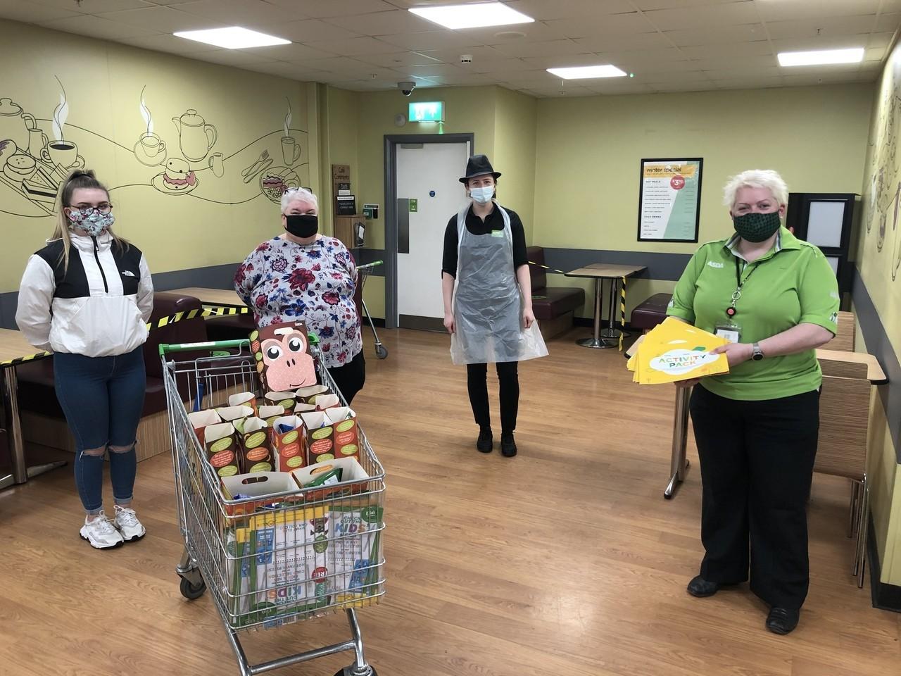 Activity packs plus kids meals   Asda Portadown