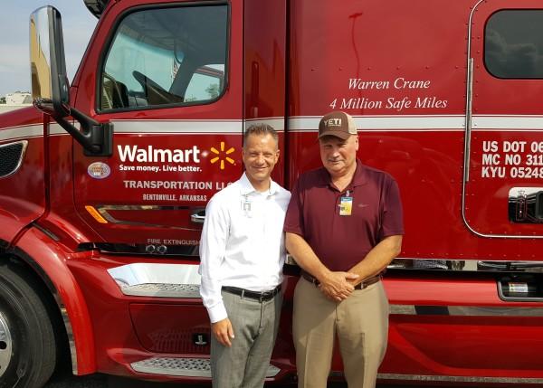 Warren Crane Truck Driver with Bryan Most