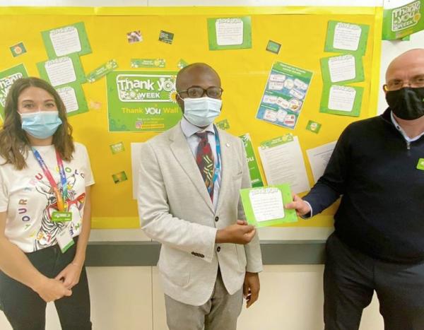 Lifesaving Asda Gloucester pharmacist Leo Duah-Gyawu