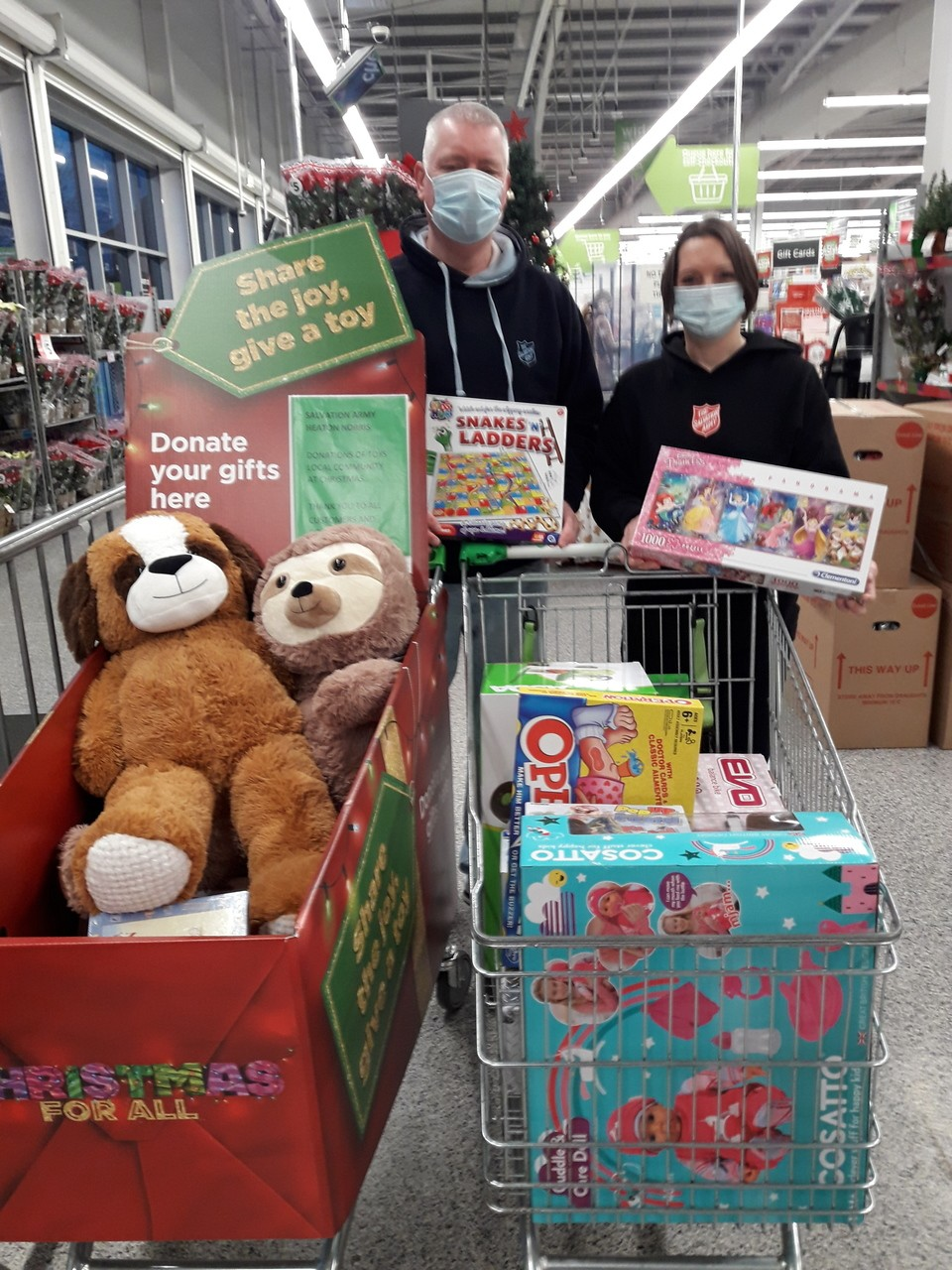 TOY APPEAL SALVATION ARMY  | Asda Reddish