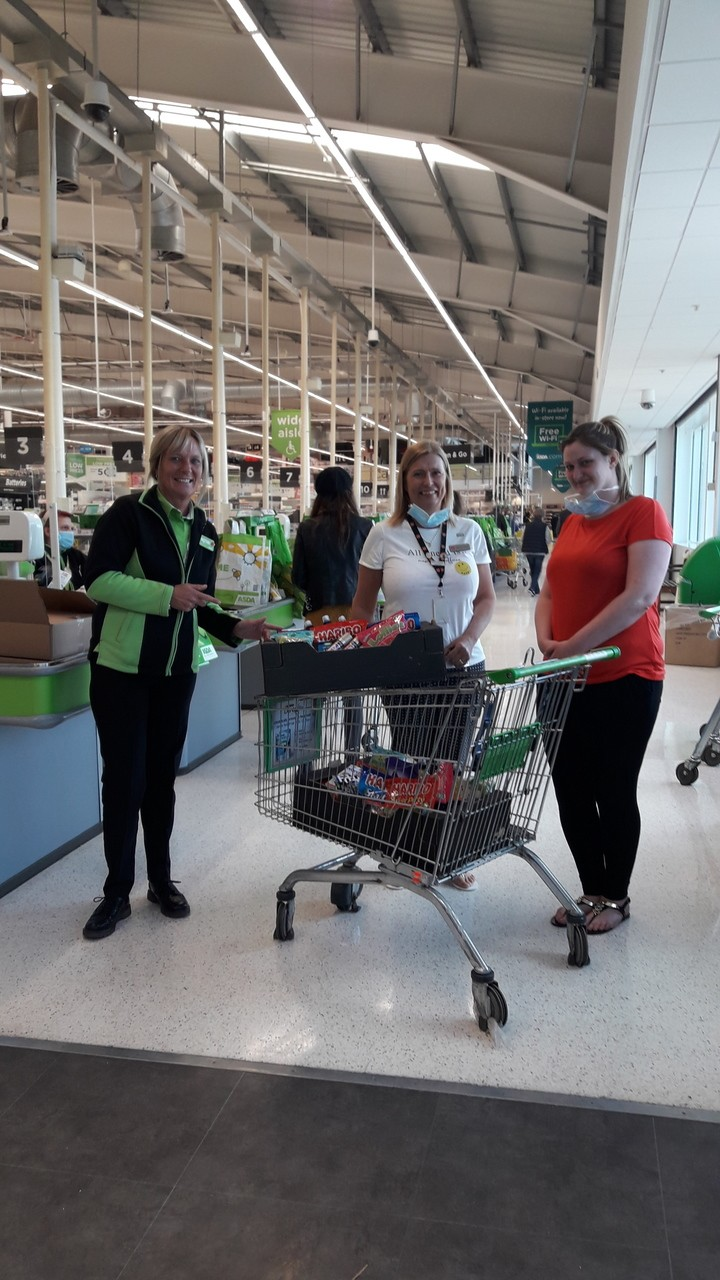 Salvation Army Care Home donation | Asda Coventry