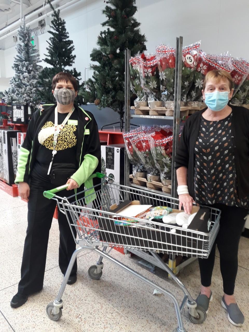 Donation to Lime House | Asda Golborne