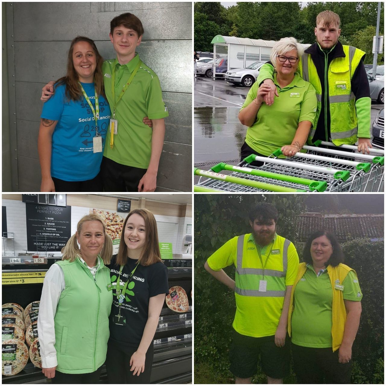It's a family affair at our Donnington Wood store | Asda Donnington Wood