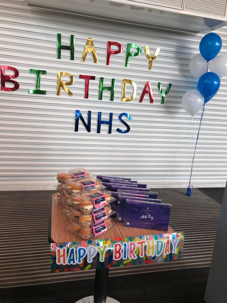 Happy 72nd birthday NHS | Asda Telford