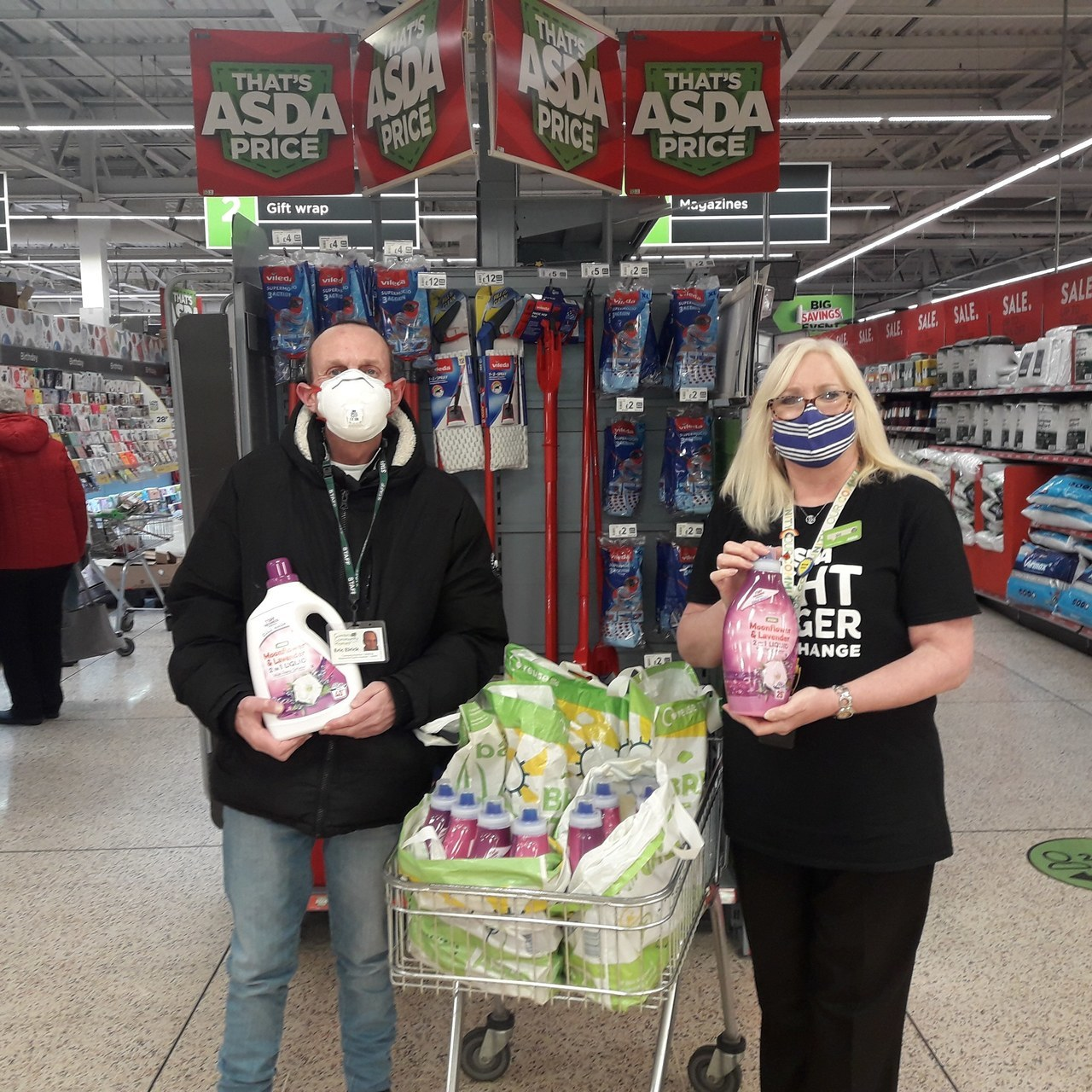 Cumbria Community Homes receive Asda Barrow's first donation of 2021 | Asda Barrow