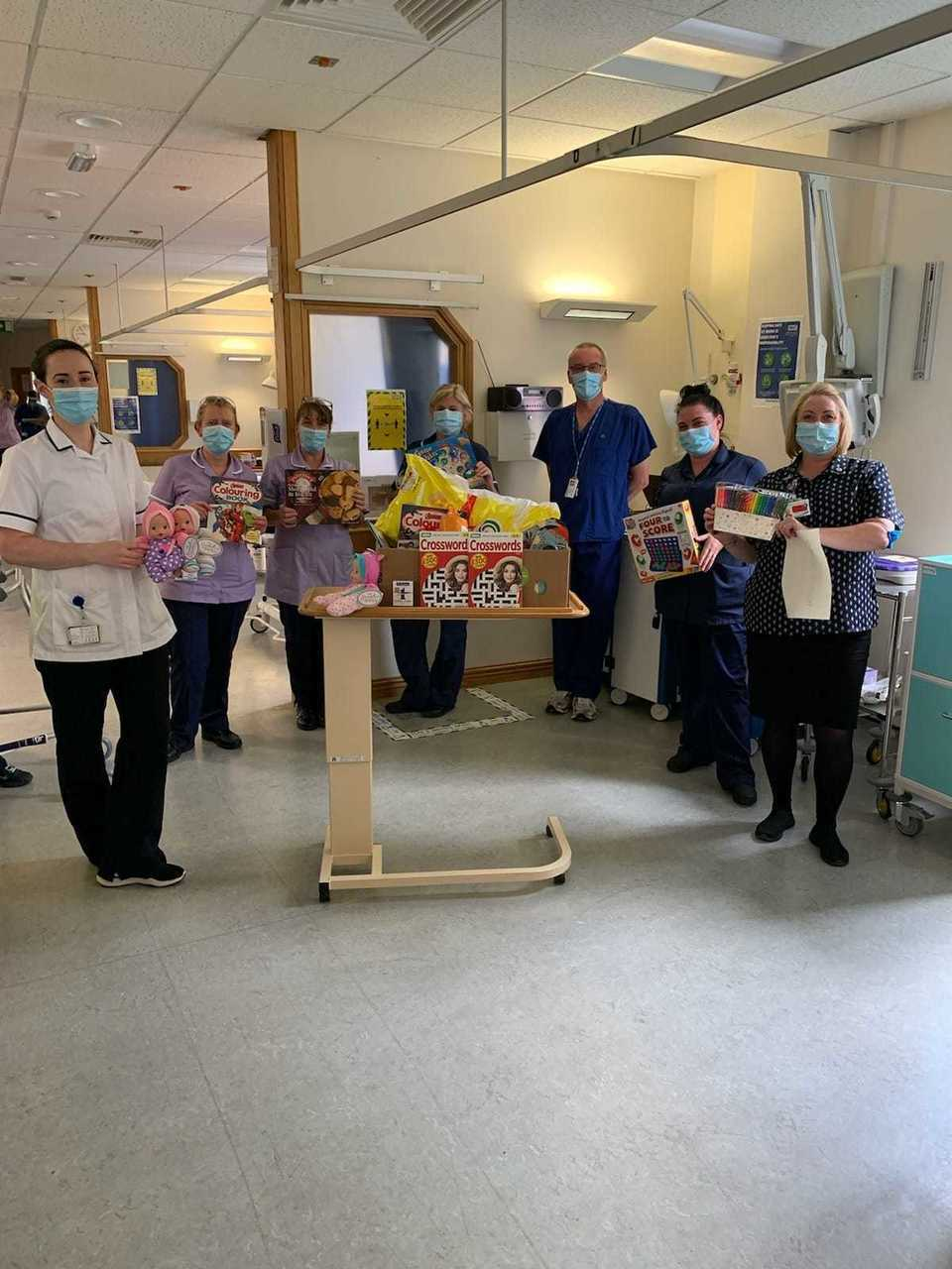 Donation to help dementia patients at North Manchester Hospital | Asda Shaw