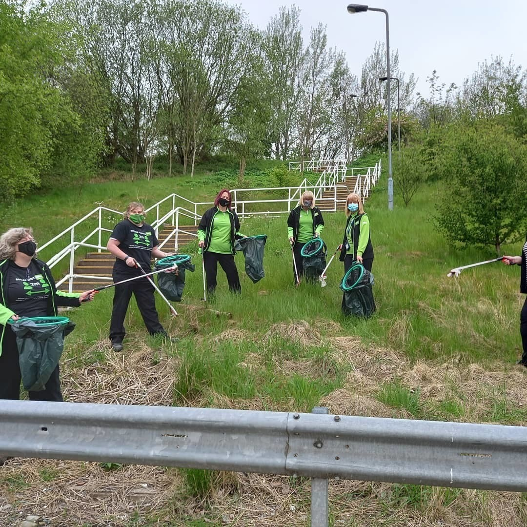 Who knew litter picking was good for your wellbeing! | Asda Wolstanton
