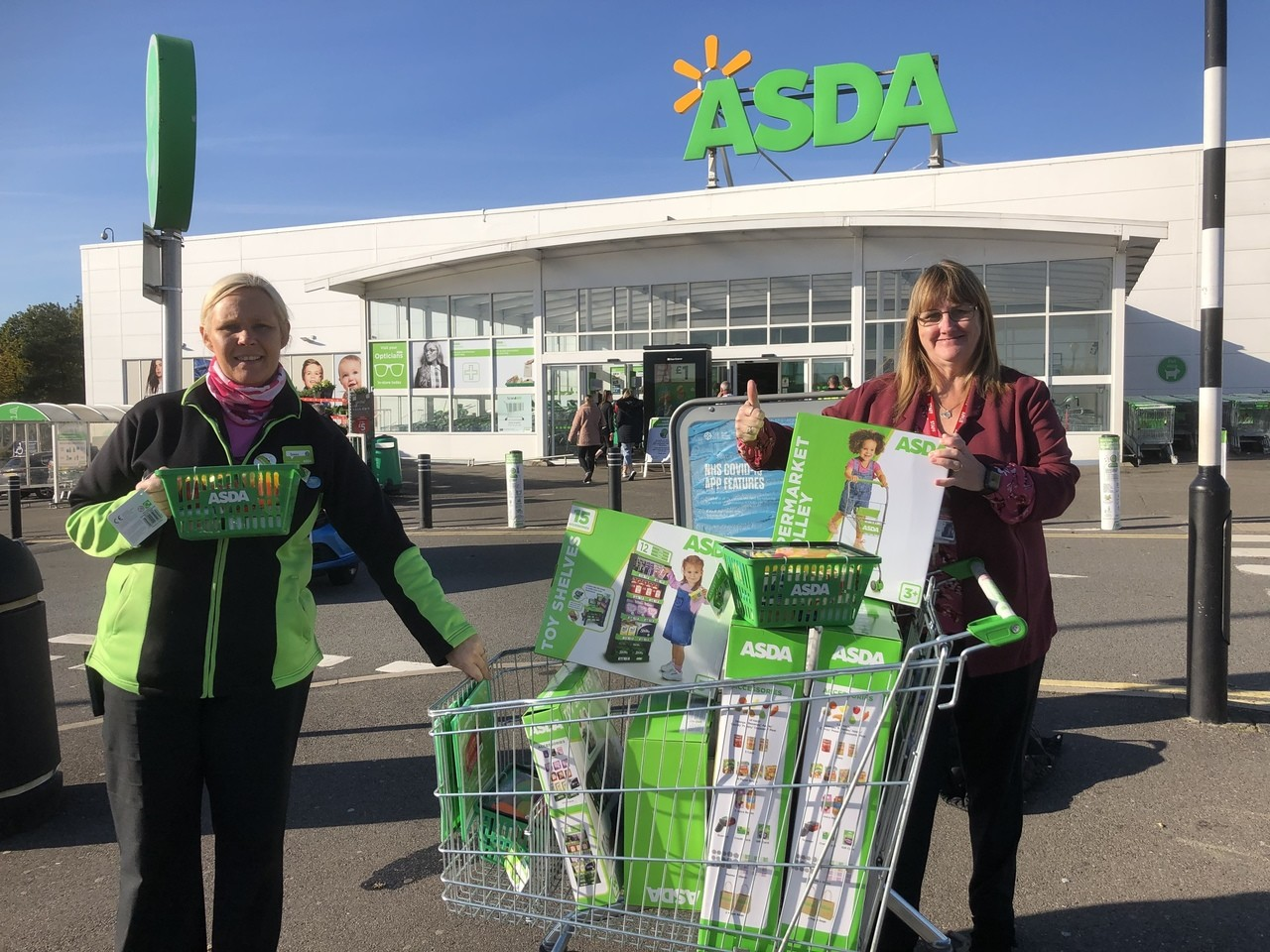 Supporting St Mary's School after a fire  | Asda Derby
