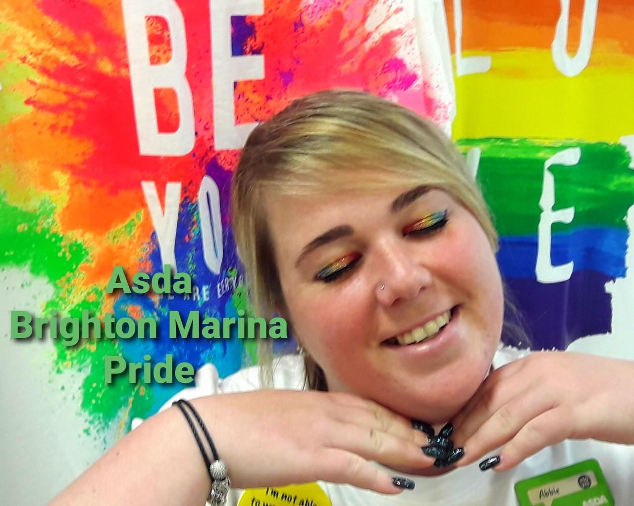 Brighton Marina Pride | Asda Brighton Marina