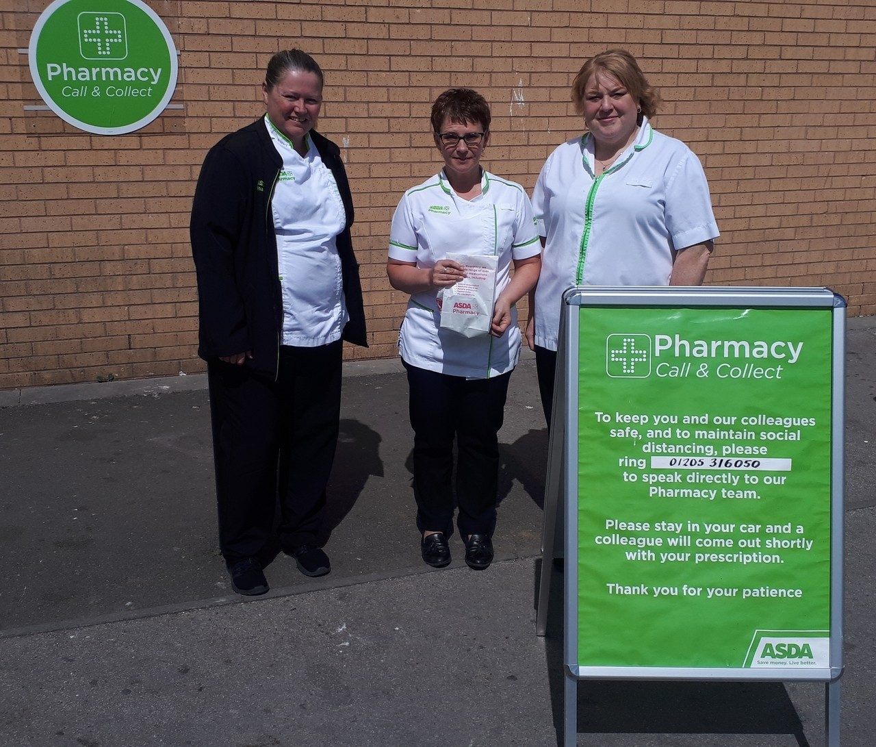 Asda Boston pharmacy offers Call and Collect service | Asda Boston