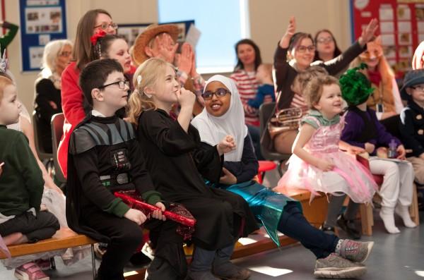 Pupils from Elmfield School for Deaf Children enjoy World Book Day