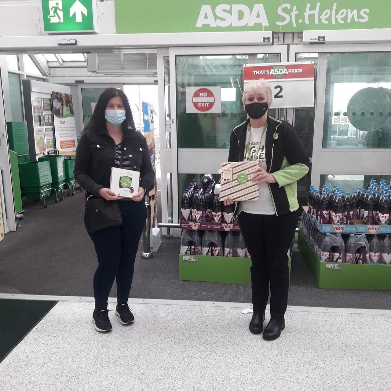 Asda St Helen's donates.. .. | Asda St Helens