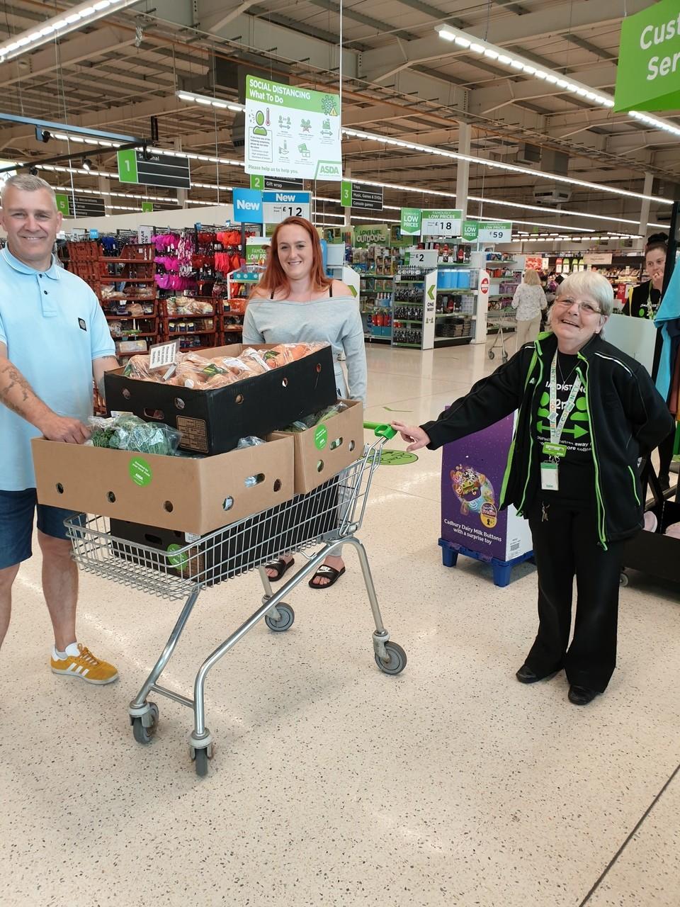 Feeding the community | Asda Hereford
