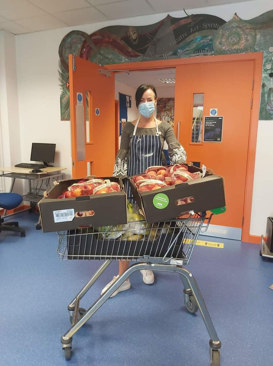 Working with The Kindle Centre to give fresh fruit to families | Asda Hereford