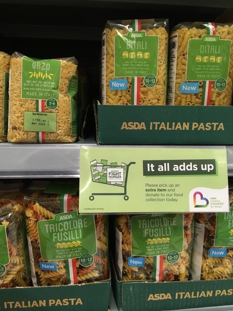 Fight Hunger Create Change | Asda St Austell