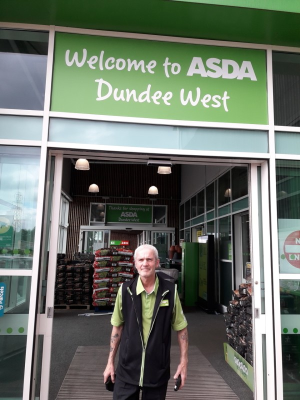Brian McPherson from Asda Dundee West
