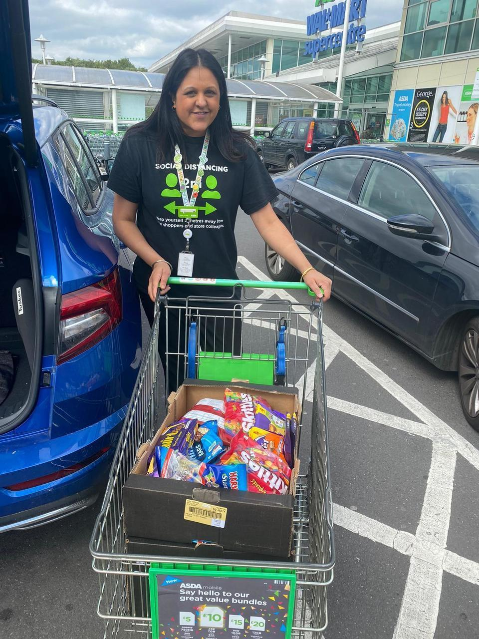 Donations to hospital | Asda Great Bridge