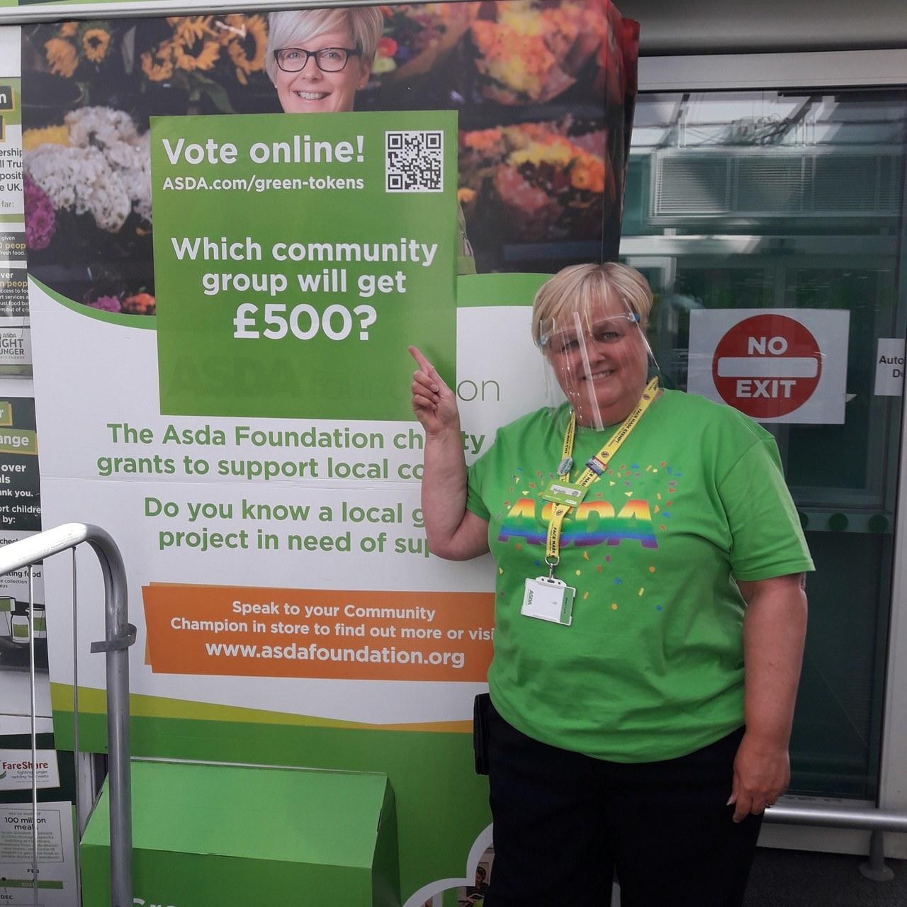 Green Token Giving is back | Asda Gosforth