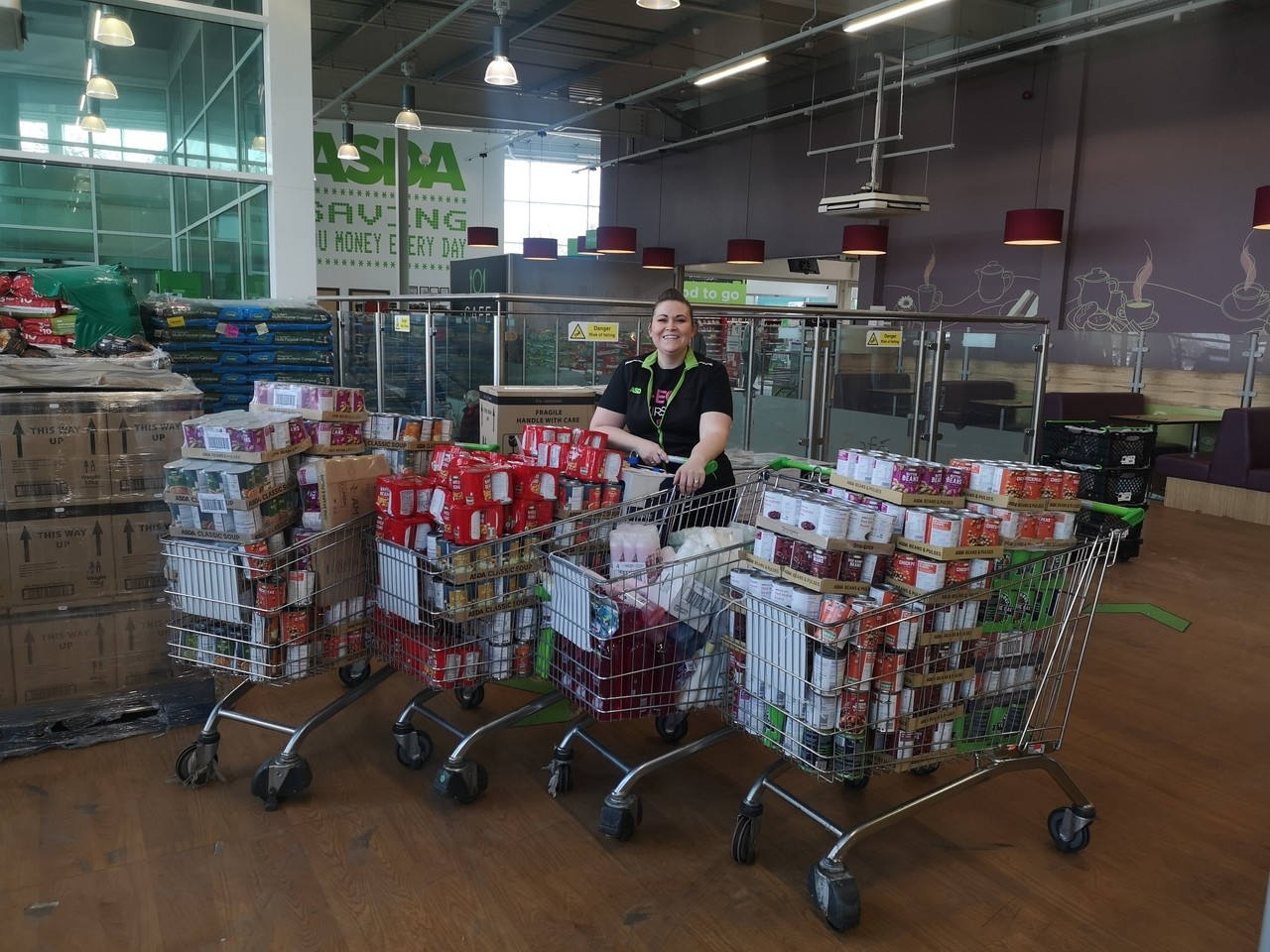 Supporting our communities | Asda Barnes Hill