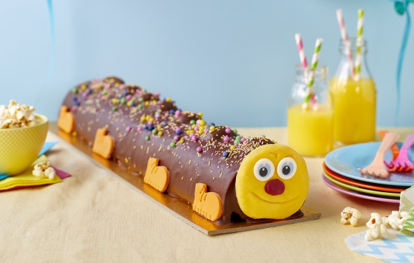 Clyde the Colossal Caterpillar Cake