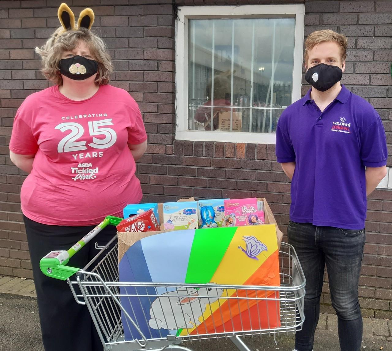 Easter Treats For Caudwell Children | Asda Wolstanton