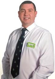 Asda Dunfermline store manager Jim Carchrie