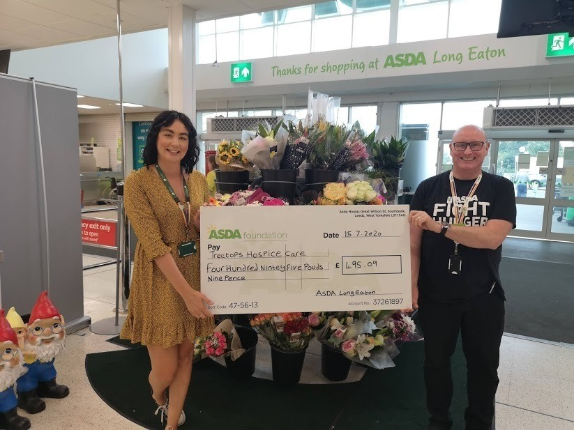 Supporting Treetops Hospice | Asda Long Eaton