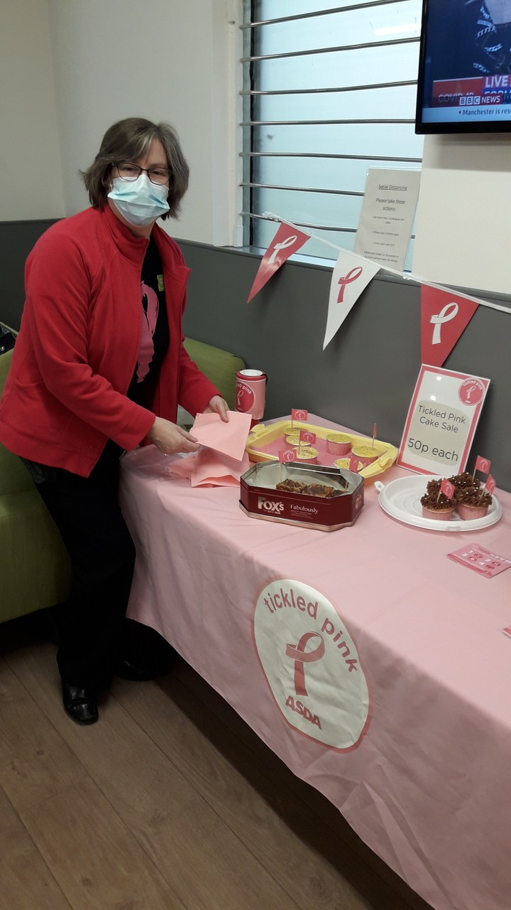 Tickled Pink in the Colleague Canteen | Asda Darlington