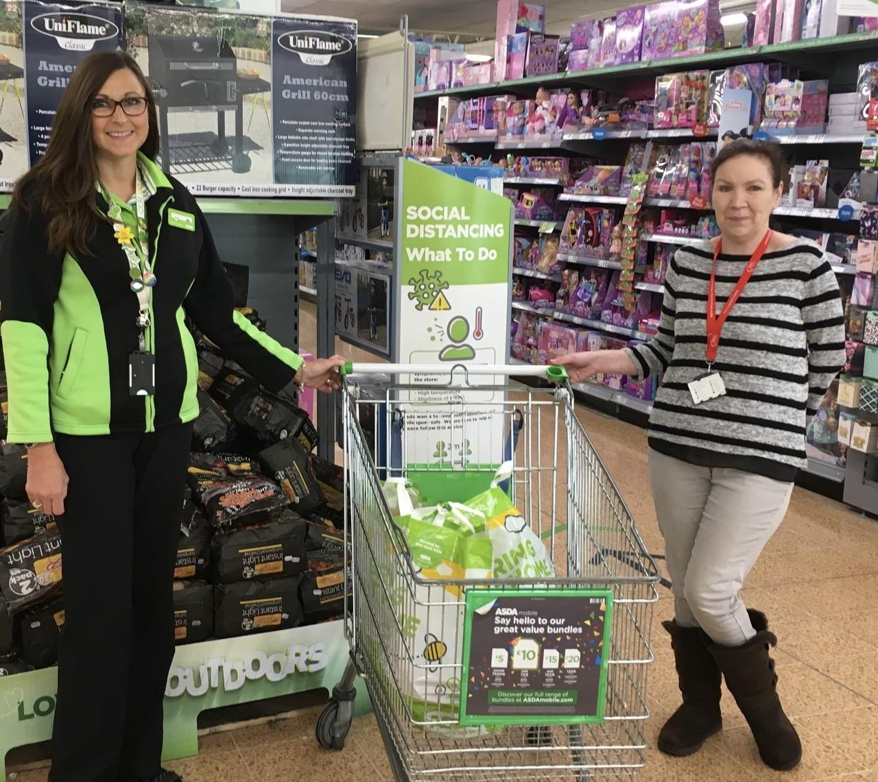 Donation for Bristol Royal Infirmary | Asda Longwell Green