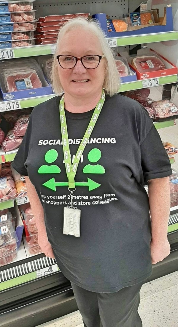 Kathleen Flynn from Asda Hamilton has been cooking meals for vulnerable people in the local community