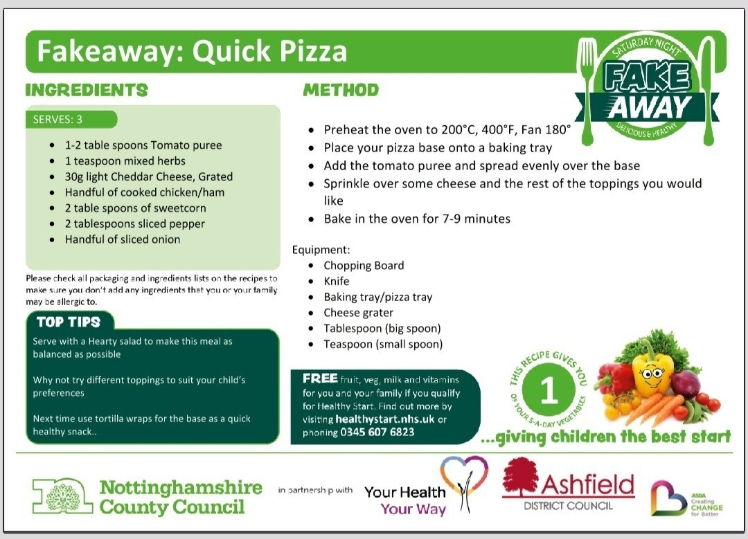 Online pizza workshop🧀🍅🍕 | Asda Sutton in Ashfield