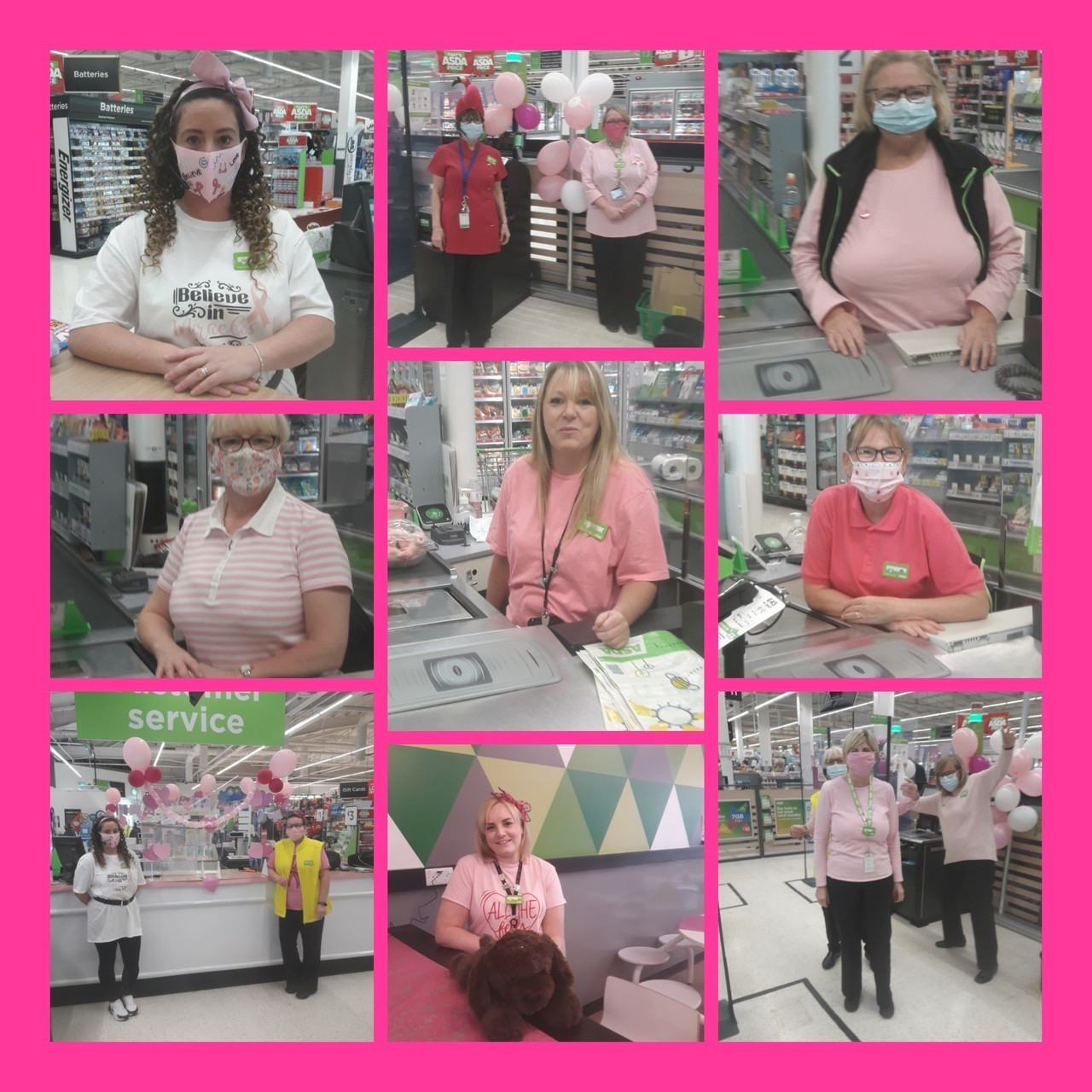 Tickled Pink fun | Asda Hartlepool