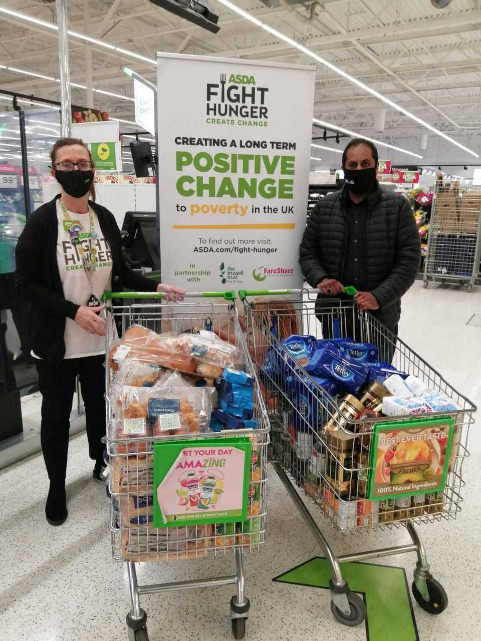 Supporting communities grant | Asda Oadby
