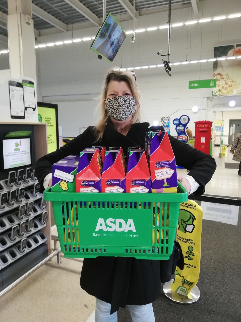 Easter eggs for foster children  | Asda Folkestone