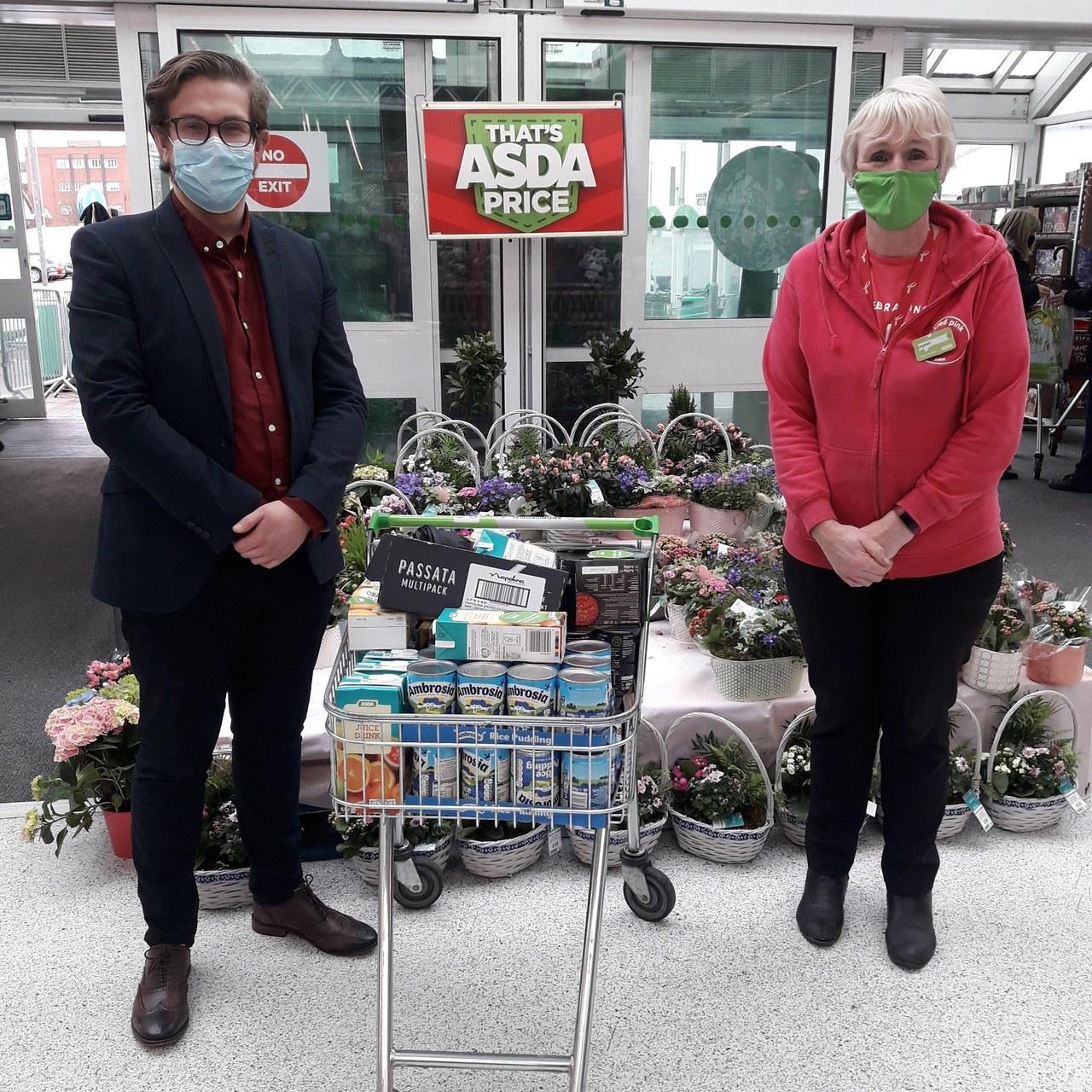 Asda St Helen's donates......   Asda St Helens