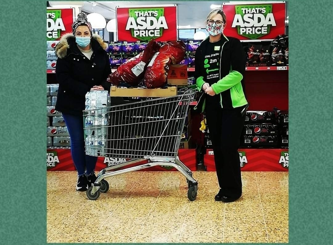 Support for Warrington Arms at Night | Asda Warrington