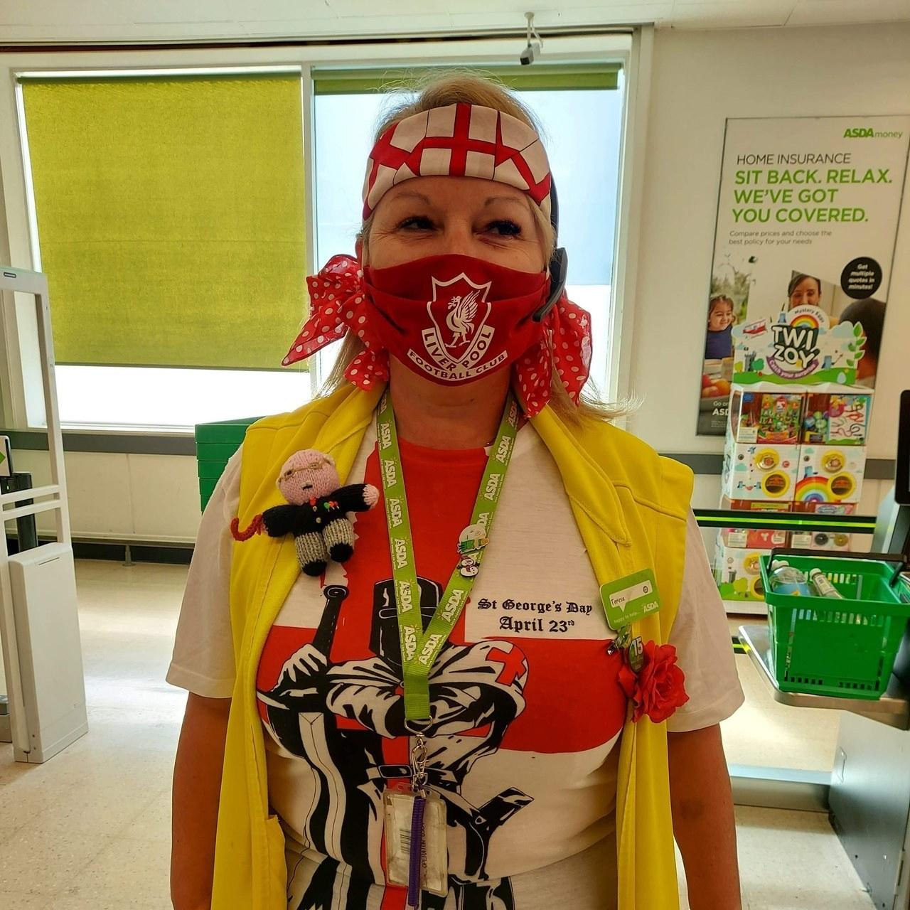St George's Day celebrations | Asda Sutton in Ashfield