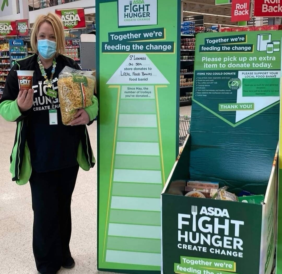 Fight Hunger collection drive | Asda St Leonards on Sea