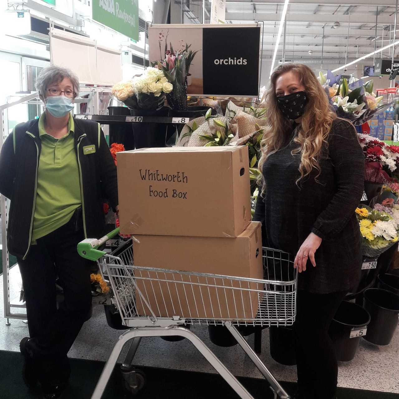 Rossendale Food Box scheme | Asda Rawtenstall