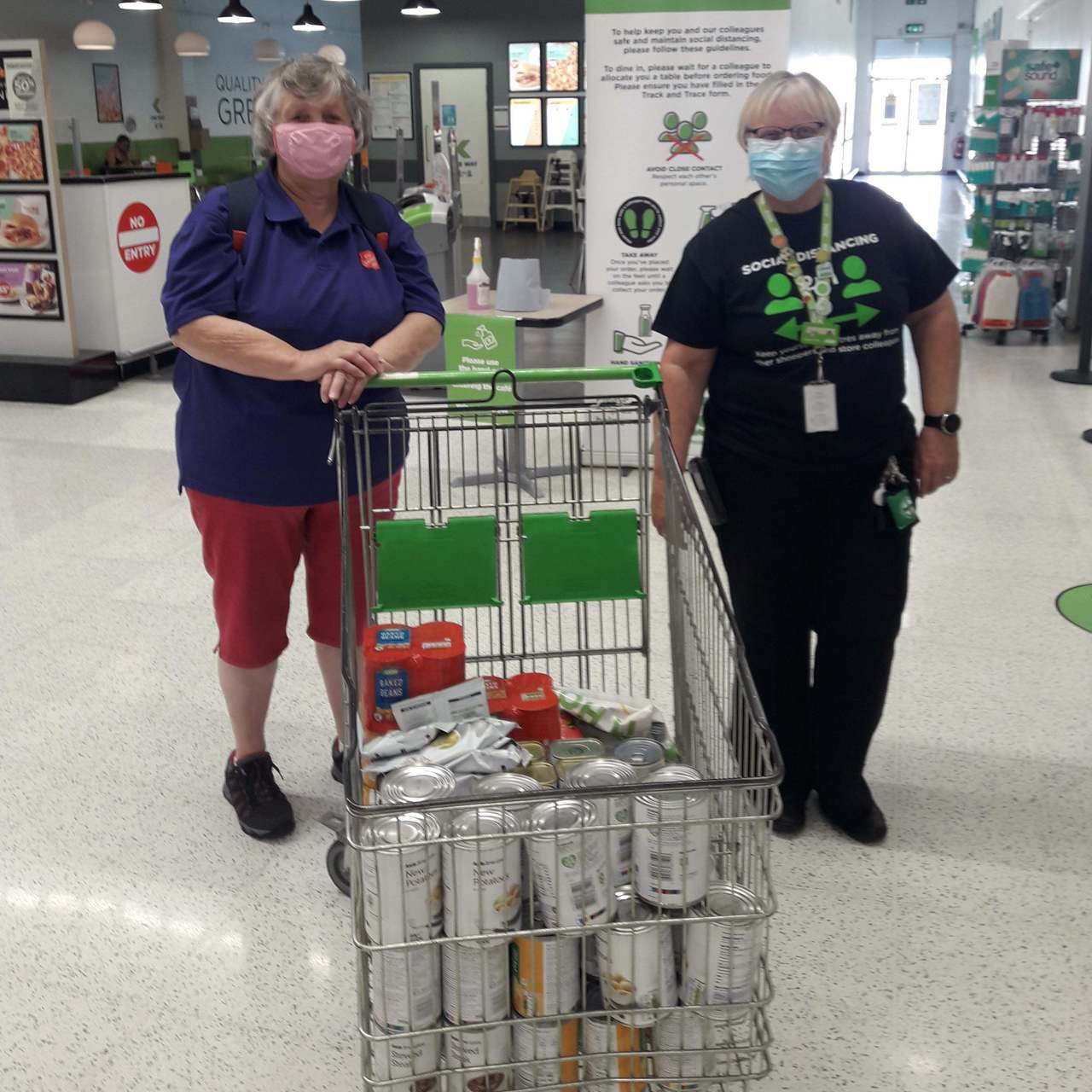 Donation to Salvation Army  | Asda Thornaby