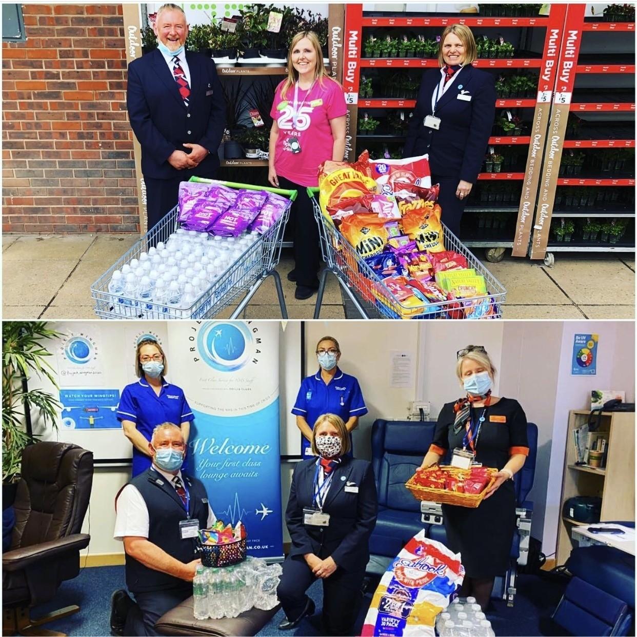Project Wingman donation | Asda Waterlooville