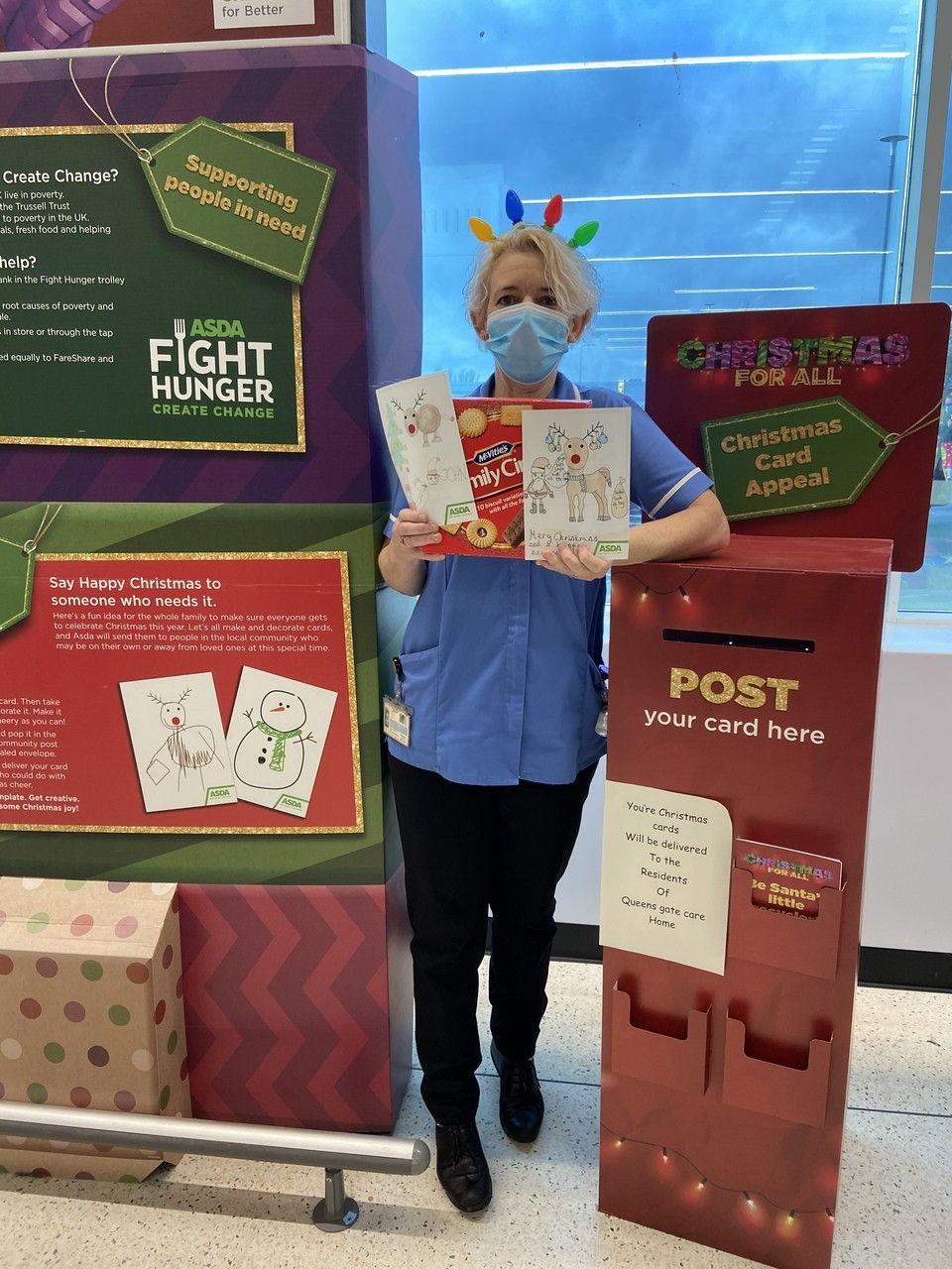 Asda Christmas card appeal | Asda Hessle