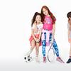 Children posing while wearing clothing from KIDBOX