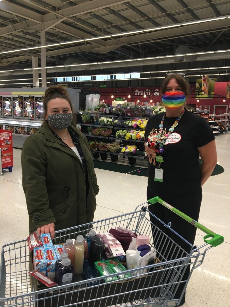 Donation to Cedars Care Home | Asda Swindon Haydon