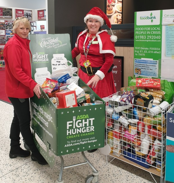 Asda Fight Hunger Create Change at Asda Isle of Wight