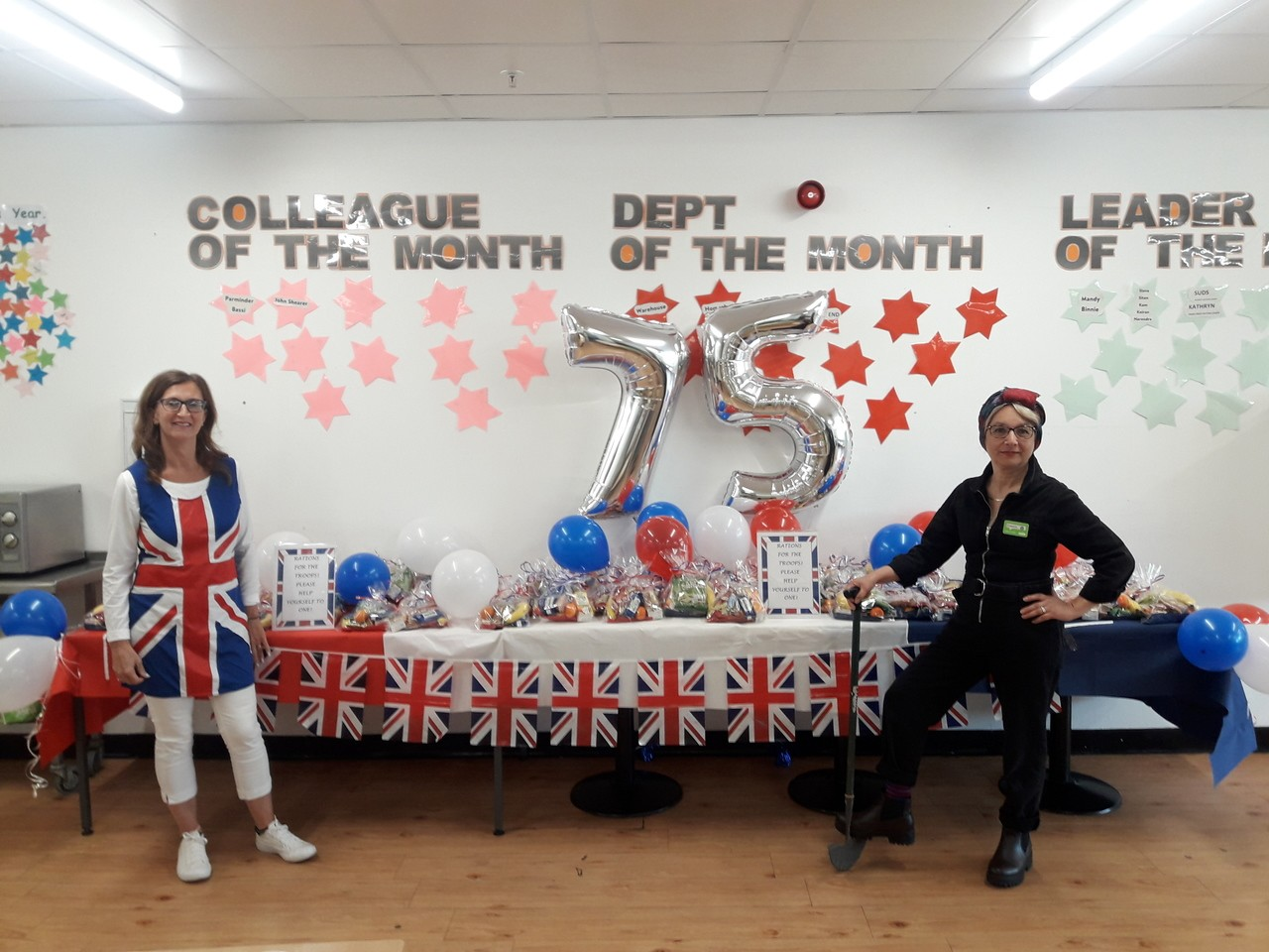 VE Day celebrations  | Asda Oadby