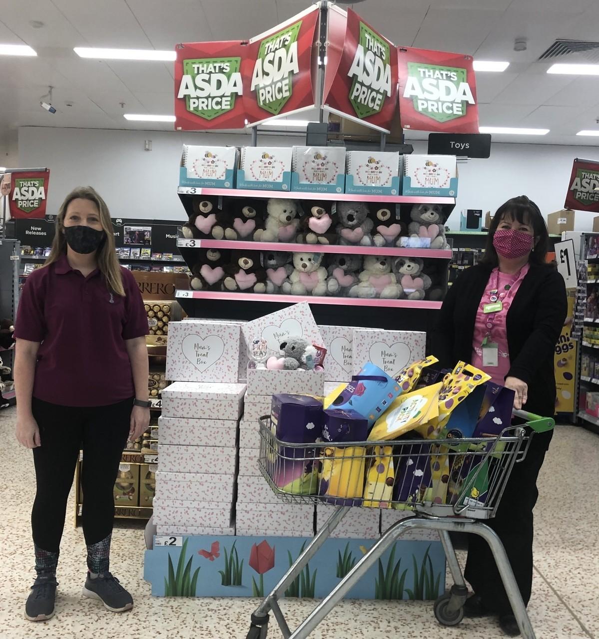 Easter fundraising | Asda Downpatrick